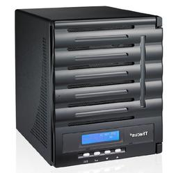 Thecus 5-Bay SMB NAS with Intel Atom D2550 CPU, 2GB DDR3, HD