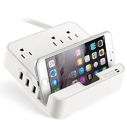 UL LISTED Charger Station - EZOPower Desktop Charging Power