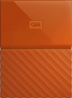 Wd - My Passport 1tb External Usb 3.0 Portable Hard Drive -