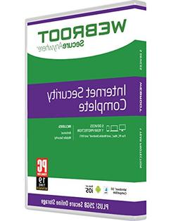 Webroot Antivirus Protection Internet Security Complete 2018
