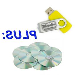 Add 32GB USB stick flash drive delivery, PLUS GET THE CDs an