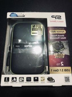 Armor A60 Shockproof Water-Resistant Portable Hard Drive USB