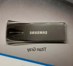 Samsung BAR Plus 256GB - 300MB/s USB 3.1 Flash Drive Titan G