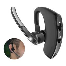Bluetooth Headset Stereo Sound Headphone Earpieces With Mic