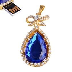 LHN® 8GB Butterfly Knot Necklace Pendant USB 2.0 Flash Driv