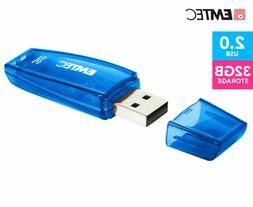 EMTEC C410 Color Mix USB 2.0 32GB Flash Drive - Blue | ECMMD