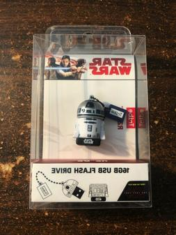 Collectible Star Wars TLJ  R2-D2 16G USB Flash Drive 2.0 Mem
