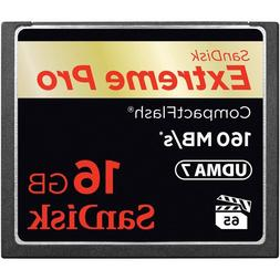 16GB Extreme CompactFlash Card