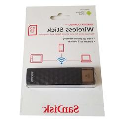 SanDisk Connect Wireless Stick 32GB Wireless Flash Drive for
