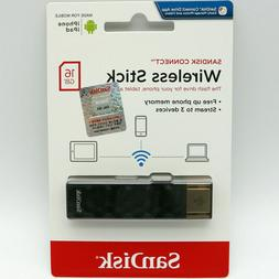 Sandisk Connect Wireless Stick USB Wifi Flash Drive Memory S