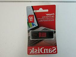SanDisk Cruzer 32GB USB 2.0 Flash Drive SDCZ36-032G-B35
