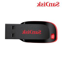 SanDisk 8GB 16GB 32GB 64GB Cruzer Blade USB 2.0 Flash Pen th
