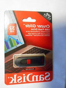 SanDisk Cruzer Glide 32GB USB 2.0 Flash Drive