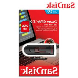 Sandisk Cruzer Glide 256 GB USB 3.0 Flash Drive