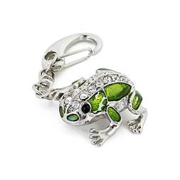 CHUYI Crystal Cute and Novelty Frog Shape Animal Pen Drive 3