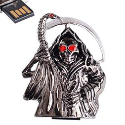 LHN® 8GB Crystal Devil Ghost USB 2.0 Flash Drive with Red E