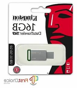 Kingston DT50 16GB 32GB 64GB USB 3.1 3.0 Flash Pen Thumb Dri