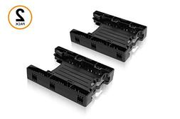 ICY DOCK DUAL Tool-less Dual 2.5 to 3.5 HDD Drive Bay SSD Mo