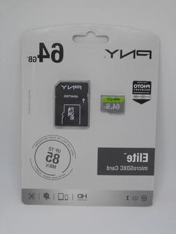 Elite 64 GB microSDXC