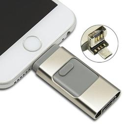 Flash Drive for iPhone Photo Stick Encryption External USB D