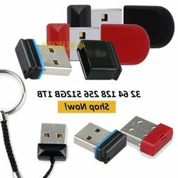 Mini Flash Drive USB Pen Drive Micro Memory Stick Backup 32