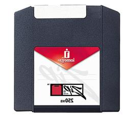 Iomega PC-Formatted 250 MB Zip Disks 4-Pack, Sku 11066