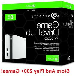 Seagate Game Drive Hub for Xbox 8TB Storage With Dual USB Po