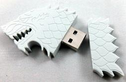 Game of Thrones Stark Dire Wolf 4 GB USB Flash Drive Song of
