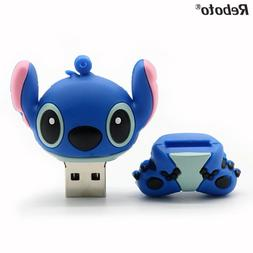 Genuine cartoon Lilo&Stitch <font><b>USB</b></font> <font><b