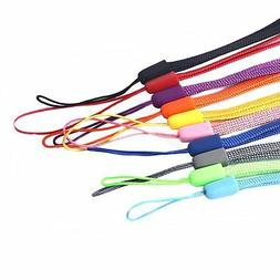 Wisdompro 10 Pack 7 Inch Colorful Hand Wrist Lanyard Strap S