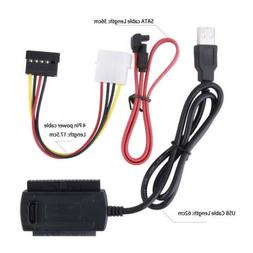 Drive To USB 2 0 Adapter Cable For 2 5 3 5 Hard Drive Univer