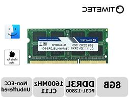 Timetec Hynix IC Apple 8GB DDR3L 1600MHz PC3L-12800 SODIMM M