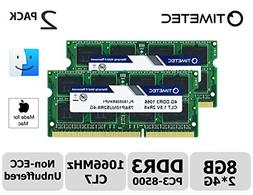 Timetec Hynix IC Apple 8GB Kit  DDR3 PC3-8500 1066MHz Memory