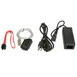 IDE SATA to USB 2.0 Adapter Converter Cable for 2.5 3.5 Inch