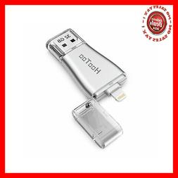 HooToo iPhone iPad Flash Drive 32GB USB 3.0 Memory Stick wit
