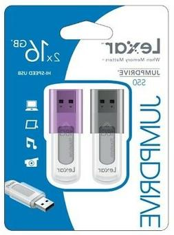 16GB JumpDrive S50 USB 2.0 Flash Drive 2 Pack