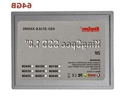 KSD-ZF18.6-064MS 1.8' 64GB 4-channel ZIF Solid State Disk SS