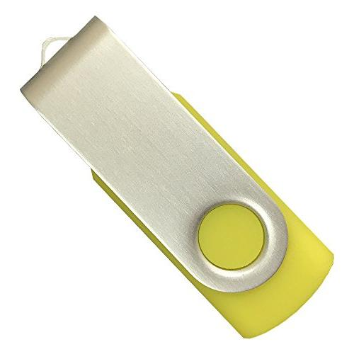 10 Jump Thumb Stick 2.0 Yellow, Solutions for Promotional, Corporate Mail Campaigns