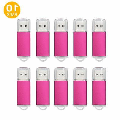 10pcs 16gb usb 2 0 flash memory