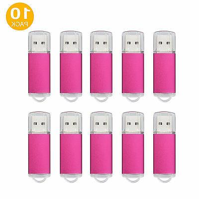 10PCS/Lot Media High Memory Stick USB