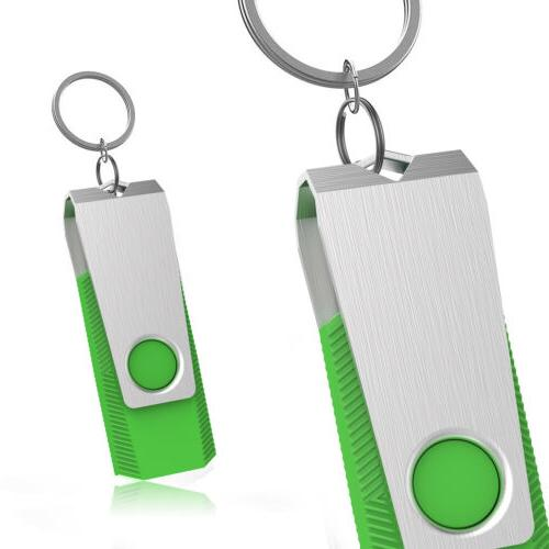 10X USB 2.0 Flash Drives Swivel Pen Storage