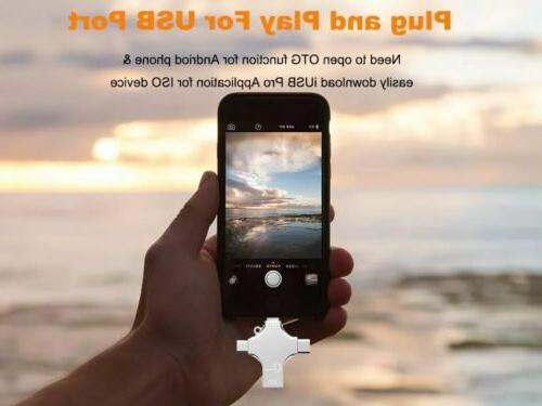 Silver Photo Drive Memory USB3.0 iPhone S9
