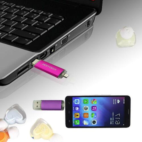 Pen Drive Memory Dual Port Phone