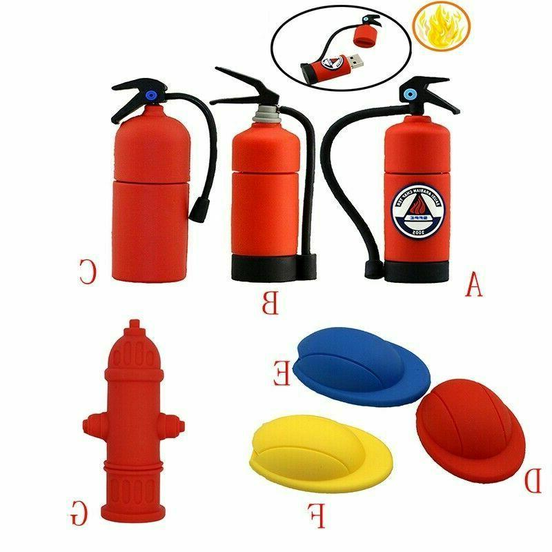 16 32 64gb pendrive fire extinguisher model
