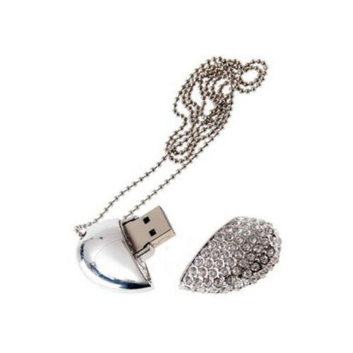 16GB Heart USB Memory Stick Gift