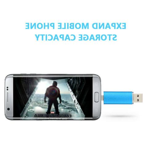1TB/2TB OTG Memory Stick USB2.0 Flash Capacity Android