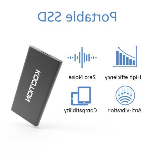 250G USB3.0 Hard Drive Portable External SSD Solid Drive Compa