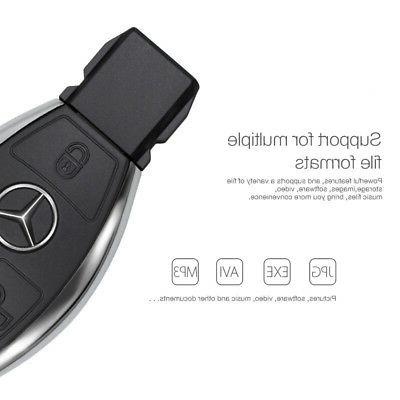256G Car Key Benz USB Drive Memory 128G 32G