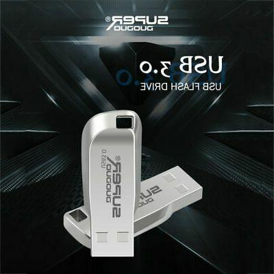 256GB USB 3.0 Flash Drives Metal Memory Stick Thumb Drive PC