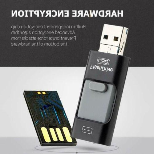 USB Memory Stick i-Flash Drive OTG For iPhone 7 XS PC